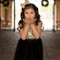 Black and Gold Sequin Flower Girl Dress