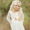 Sweetheart Chic Lace Ivory Flower Girl Dress