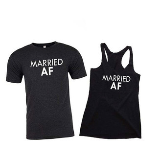 Married AF Shirts for Husband and Wife