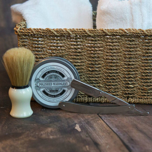 Personalized Groomsmen Shave Kit Gifts - The Elijah