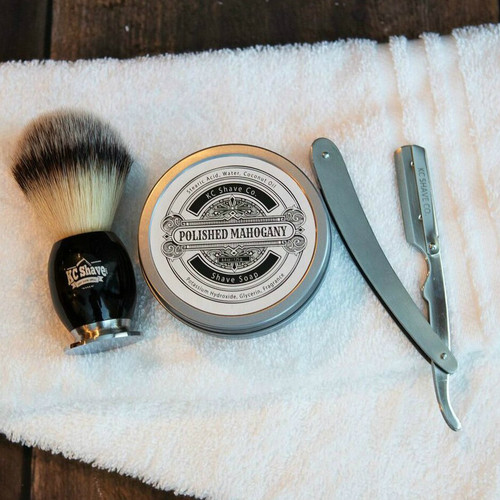 Personalized Groomsmen Shave Kit Gifts - The Jasper