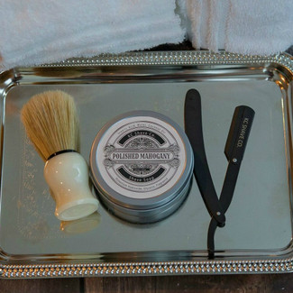 Personalized Groomsmen Shave Kit Gifts - The Logan