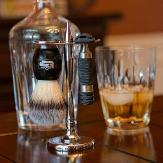 Personalized Groomsmen Shaving Kit - The Angelo