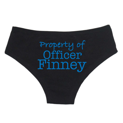 Property of Officer Personalized Underwear