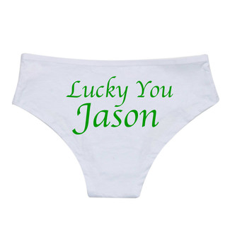Lucky You Personalized Underwear