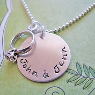 Custom Engagement Necklace
