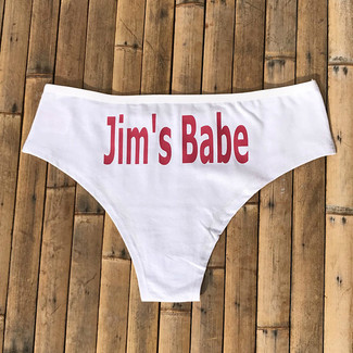 Personalized Babe Panties