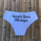 Personalized Sincerely Yours Panties