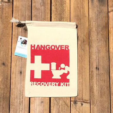 Hangover Kit Party Favor Bags