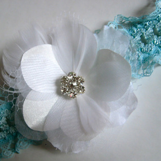 Something Blue Keepsake Garter