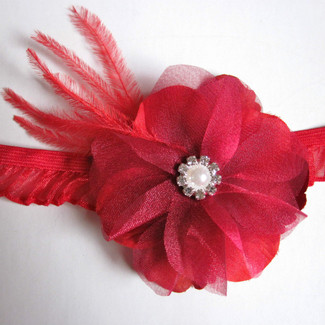 Red Keepsake Garter