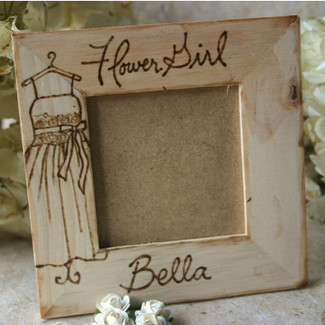 Flower Girl Personalized Picture Frame