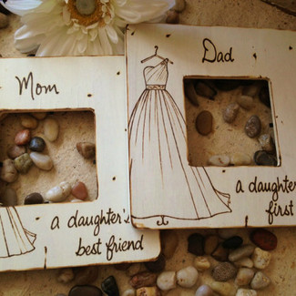 Parents of the Bride Picture Frame - Set of 2
