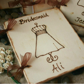 Bridesmaid/MOH Rustic Scrapbook Photo Journal