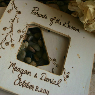 Parents of the Bride/Groom Picture Frame - Set of 2