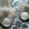 Feather Crystal Bridal Shoes