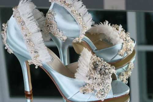 Marie Antoinette Bridal Shoes