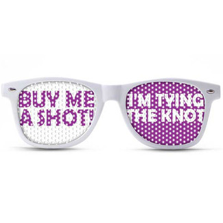 Buy Me a Shot - I'm Tying the Knot Sunglasses
