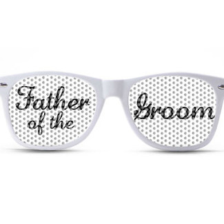 Father of the Groom Wedding Sunglasses