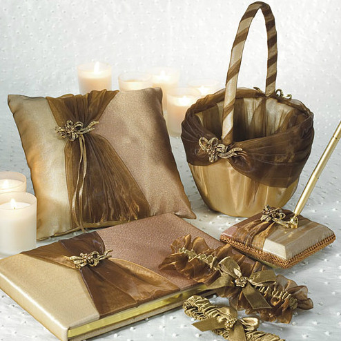 Elegant Bronze Wedding Collection