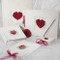 Flowers of Love in Romantic Red Wedding Collection