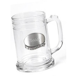 Mug with Pewter Emblem
