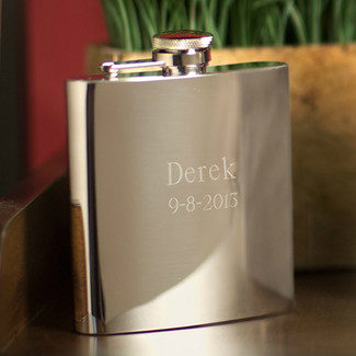 Stainless Steel High Polish Flask