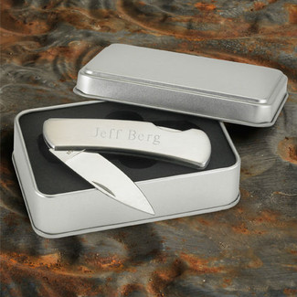 Stainless Steel Lock-Back Knife