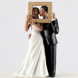 """Picture Perfect"" Wedding Cake Topper"