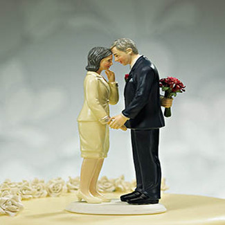 Still in Love Wedding Cake Topper