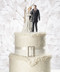 Winter Wonderland Wedding Cake Topper