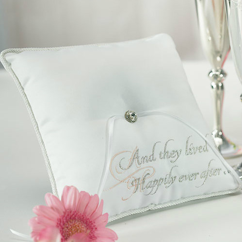 Fairy Tale Dreams Ring Pillow