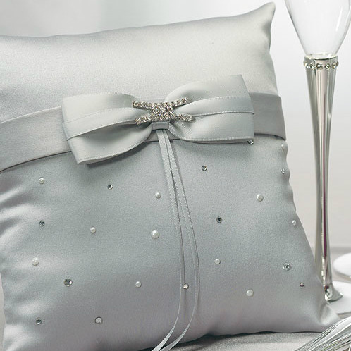 Platinum By Design Ring Pillow