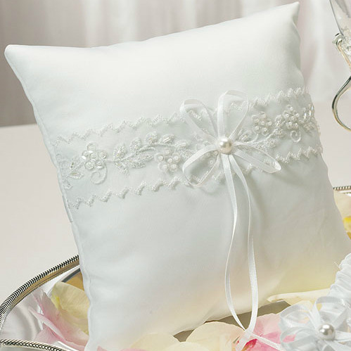 Sweet Art Ring Pillow