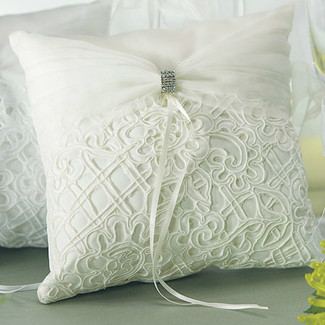 Bridal Tapestry Ring Pillow