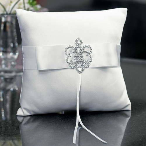 The Crowned Jewel Ring Pillow