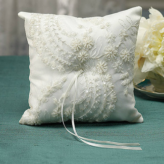 Venetian Elegance Ring Pillow