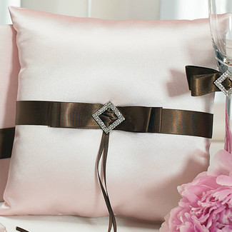 Chocolate & Strawberry Ring Pillow