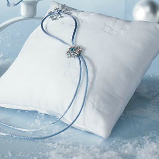Winter Wonder Ring Pillow