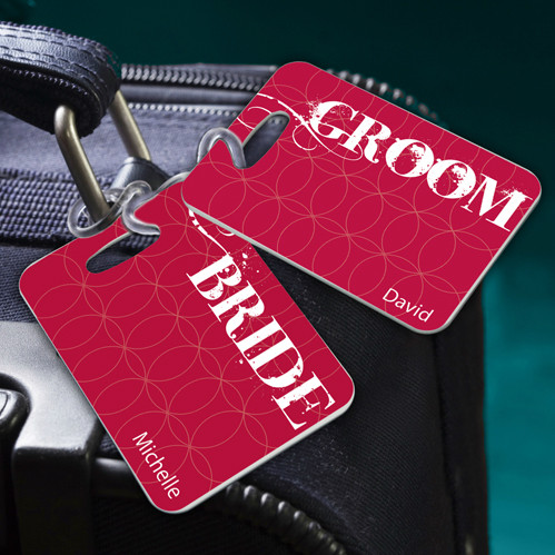 Bride and Groom - Couples Sojourn Luggage Tags