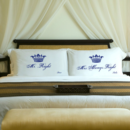 Blue Royal Correctness Pillow Case