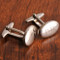 Oval Polished Cufflinks