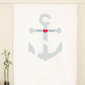 Anchor Personalized Photo Backdrop