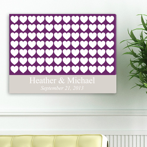Heartful Wishes Canvas