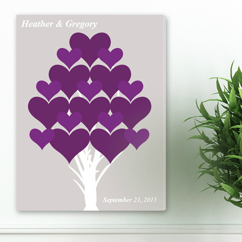 Forever Hearts Canvas