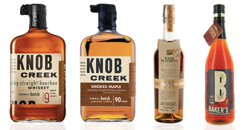 Knob Creek Basil Hayden's Baker's