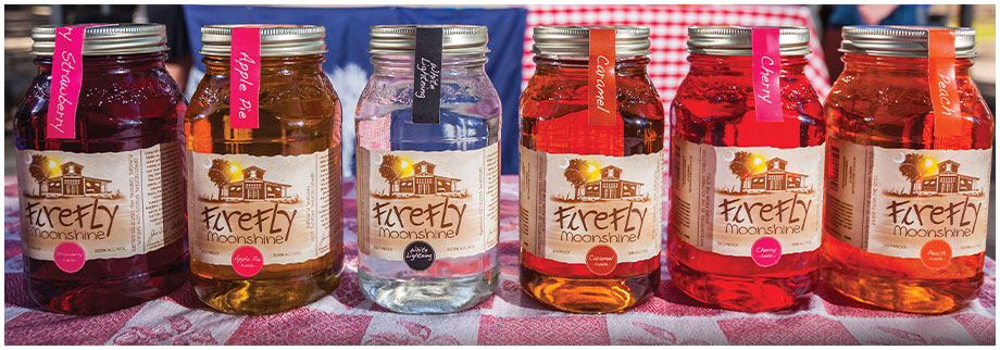 FireFly Moonshine Assorted Flavors