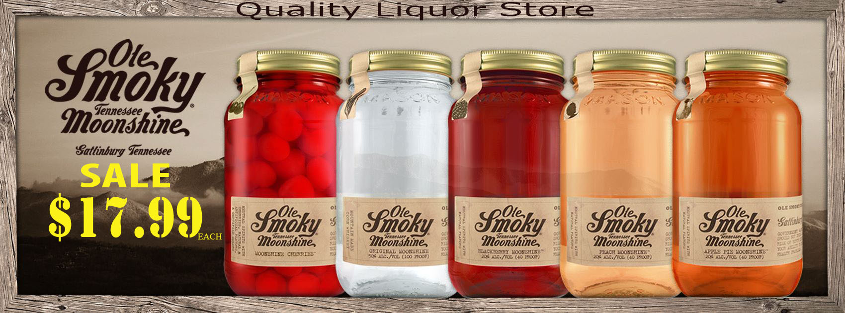 Ole Smoky Tennessee Moonshine