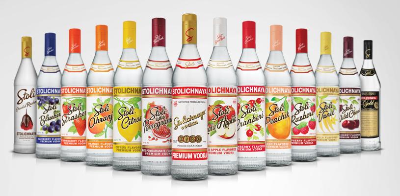Stolichnaya Premium Vodka Stoli Vodka Russian Vodka