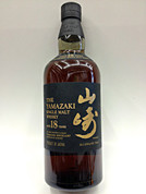 Suntory Yamazaki 18 Year Single Malt Whisky